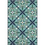 Oriental Weavers Meridian Area Rug, 2x3, Blue/Green