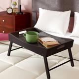Red Barrel Studio® Meidinger Bed Tray Manufactured Wood in Brown, Size 10.16 H x 24.41 W x 14.96 D in | Wayfair 1E2C52A8985144CEBA13F880830923A8