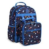 J World New York Kids' Backpack with Lunch Bag Set, Spaceship, One Size