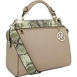 Mia K. Collection Valentina Tote Handbag by Mia K. Collection