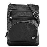 Purse King Mini Duchess Black Cross Body Bag
