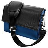 Blue adies Shoulder Bag Gadget Bag Fits Nikon SLR DSLR Cameras/Zoom Lens Accessory Pack