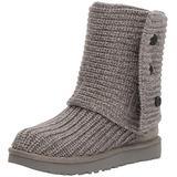 UGG Women's Classic Cardy Winter Boot, Grey, 9 B US
