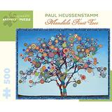 Paul Heussenstamm Mandala Fruit Tree 500-Piece Jigsaw Puzzle Aa964