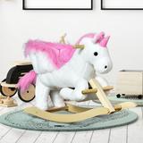 "Qaba kids Rocking Horse, Size 21""H X 12""W X 25""D | Wayfair 330-076"