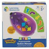 Learning Resources STEM Programmable Robot Mouse, Multicolor