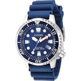 Bn0151-09l Promaster Professional Diver - Blue - Citizen Watches