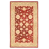 Safavieh Anatolia Florence Framed Floral Wool Rug, Red, 2X8 Ft