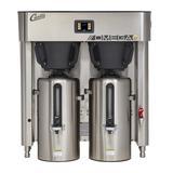 Curtis OMGT 3 gal Twin Coffee Urn Brewer w/ Dispenser, 208v/3ph