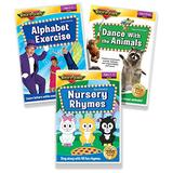 Early Learning 3 DVD Collection (Alphabet Exercise DVD, Dance With the Animals DVD, & Nursery Rhymes DVD)