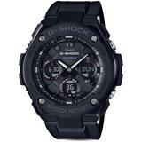G - Shock Analog And Digital Combo Solar Strap Watch - Black - G-Shock Watches