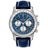 Aurora Blue Breitling Navitimer 1 B01 Chronograph 46 mm Watch AB0127211C1X1