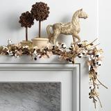 Cotton Leaf Garland - Ballard Designs
