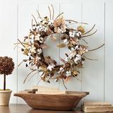 Cotton Leaf Wreath - Ballard Designs