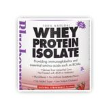 100% Natural Whey Protein Isolate Powder, Natural Strawberry Flavor, 1.1 oz x 8 Packets, Bluebonnet Nutrition