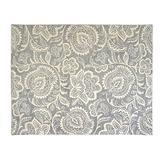 Gertmenian Bohemian Rug I Contemporary Area Carpet, 9x13 X Large, Gray Abstract Floral