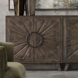 World Menagerie Hillside 2 Door Accent Cabinet Wood in Brown, Size 35.0 H x 36.0 W x 14.0 D in | Wayfair 0D3F162753B140D7BBA3D6F0BE9EAD48