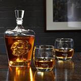 Darby Home Co Linco Skull Personalized 3 Piece Whiskey Decanter Set Glass, Size 16.9 H x 13.0 W in | Wayfair D815BD7DD27047AA917427B911B6926A