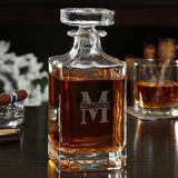 Darby Home Co Kaity Custom 26 oz. Whiskey Decanter Glass, Size 10.0 H x 4.0 W in | Wayfair 1CEC3C30CDCC4C0AB612A4550C50665C