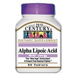 Alpha Lipoic Acid 50 mg 90 Tablets, 21st Century Health Care
