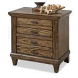 Union Rustic Rodriguez 2 Drawer Nightstand Wood in Brown, Size 26.5 H x 27.0 W x 17.0 D in | Wayfair 8F23419DE3744CD08C16978F1F36C7EF