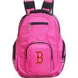 """""""Pink Boston Red Sox Backpack Laptop"""""""