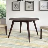 CorLiving Atwood Round Dining Table in Cappuccino, 47'' Diameter