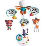 Tiny Love Classic Forest Mobile Plastic in Blue/Orange/White, Size 13.4 H x 16.0 W x 4.8 D in | Wayfair TO048-0700E