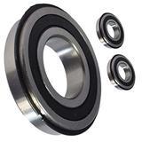 HD Switch (2 Pack) Front Wheel Bearings Replaces John Deere Gator 6x4, 4x2, TS, Trail, Front Wheel Bearing Kit - AM102888