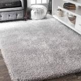 Ebern Designs Marceline Silver Area Rug Polyester in Brown/Gray, Size 144.0 H x 108.0 W x 0.25 D in | Wayfair 7CD098EF86EC4B1C9DA3BF01B831AE50