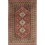 Mohawk Home Z0117-096120-EC Bryant 8' x 10' Rectangular Traditional Area Rug Chocolate Brown