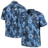 Men's Tommy Bahama Navy Penn State Nittany Lions Big & Tall Fuego Floral Button-Up Shirt
