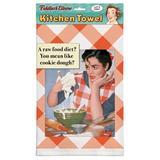 "Fiddler's Elbow Cookie Dough Dishcloth, Cotton in Orange/Gray, Size 32""H X 22""W X 1""D | Wayfair E45"