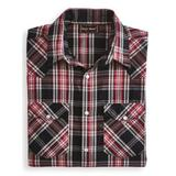 Men's John Blair Long-Sleeve Snap-Front Shirt, Phantom Plaid XL Tall