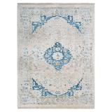 Bungalow Rose Crayton Oriental Ivory Area Rug Polyester in White, Size 108.0 H x 72.0 W x 0.27 D in | Wayfair 3D5B0464F1D848719263DD8454F123A1