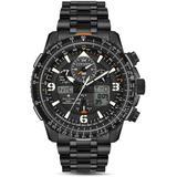Promaster Skyhawk A - T Eco - Drive Black Chronograph - Black - Citizen Watches