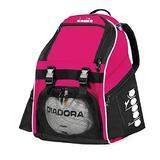 Diadora Squadra II Soccer Backpack (Hot Pink)