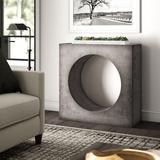 Greyleigh™ Ranchester Console Table in Gray, Size 36.25 H x 36.5 W x 14.0 D in | Wayfair C97F92C1B2974698B88F541E90678736