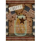 "Toland Home Garden 1012202 American Liberty 28 x 40 Inch Decorative, House Flag (28"" x 40"")"