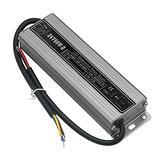 60 Watt Waterproof IP67 LED Power Supply Driver Transformer 110V AC 60Hz to 24V DC Low Voltage Output for Low Voltage Landscape Lighting Spotlight Outdoor