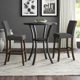 Greyleigh™ Haysi 2 Person Bar Height Dining Set Wood/Metal in Gray, Size 42.0 H in | Wayfair 3CEC1355170A4F9282D150701FEFA849