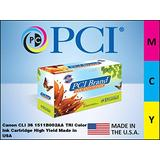 PCI Brand Remanufactured Ink Cartridge Replacement for Canon CLI-36 Color Inkjet Cartridge 249 Page Yield