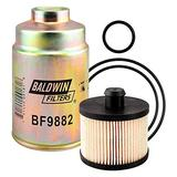 Baldwin BF9918 KIT Automotive Fuel Filter (Spin-On 4-13/32 in.L)