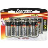 Eveready 08806 - D Cell Alkaline Battery (8 pack) (ENERGIZER MAX ALK D-8)