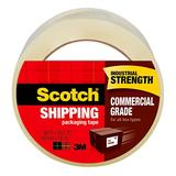 """Scotch Commercial Grade Shipping Packaging Tape, 1.88"""" x 54.6 yd, Designed for Packing, Shipping and Mailing, Guaranteed to Stay Sealed, 3"""" Core, Clear, 36 Rolls (3750-CS36ST)"""