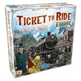 Ticket to Ride Europe Board Game | Family Board Game | Board Game for Adults and Family | Train Game | Ages 8+ | For 2 to 5 players | Average Playtime 30-60 minutes | Made by Days of Wonder
