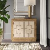 House of Hampton® Alzuphar 2 Door Accent Cabinet Wood in Brown, Size 29.0 H x 31.88 W x 16.0 D in   Wayfair 1BCAF81CBF9B428DA3632B57D5910C0D
