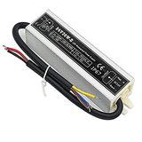 30 Watt Waterproof IP67 LED Power Supply Driver Transformer 110V AC 60Hz to 24V DC Low Voltage Output for Low Voltage Landscape Lighting Spotlight Outdoor