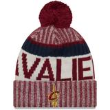 Youth New Era Burgundy Cleveland Cavaliers Sport Knit Hat
