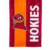 """Virginia Tech Hokies 28"""" x 44"""" Double-Sided Embellish House Flag"""